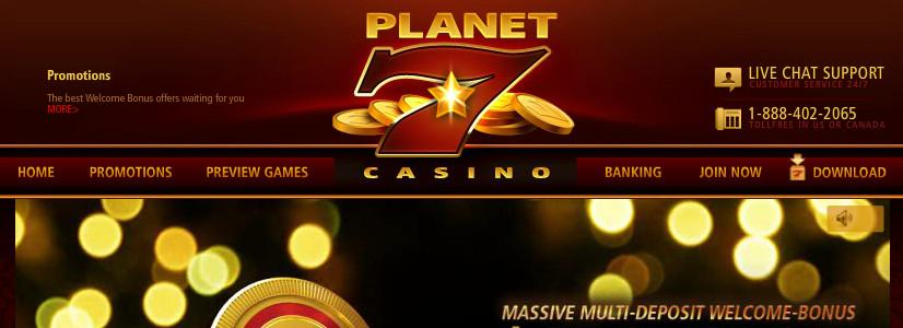 Planet 7 Casino - US Players Accepted!